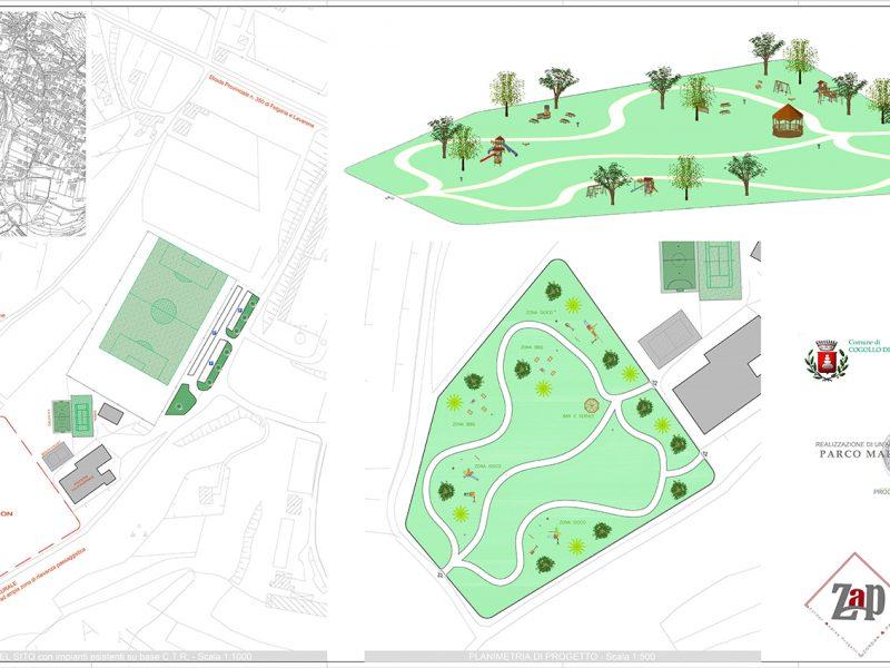 progetto parco pubblico
